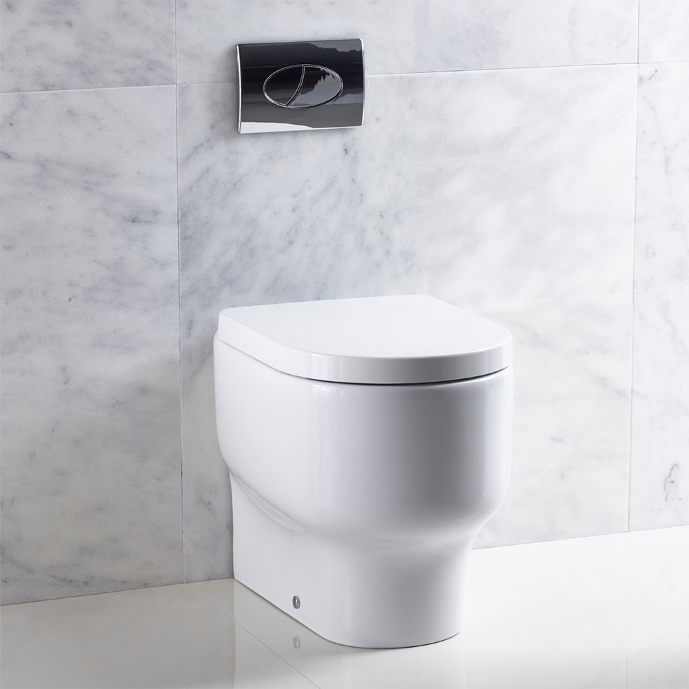Roper Rhodes Edition Back to Wall WC Pan & Soft Close Seat Profile Large Image
