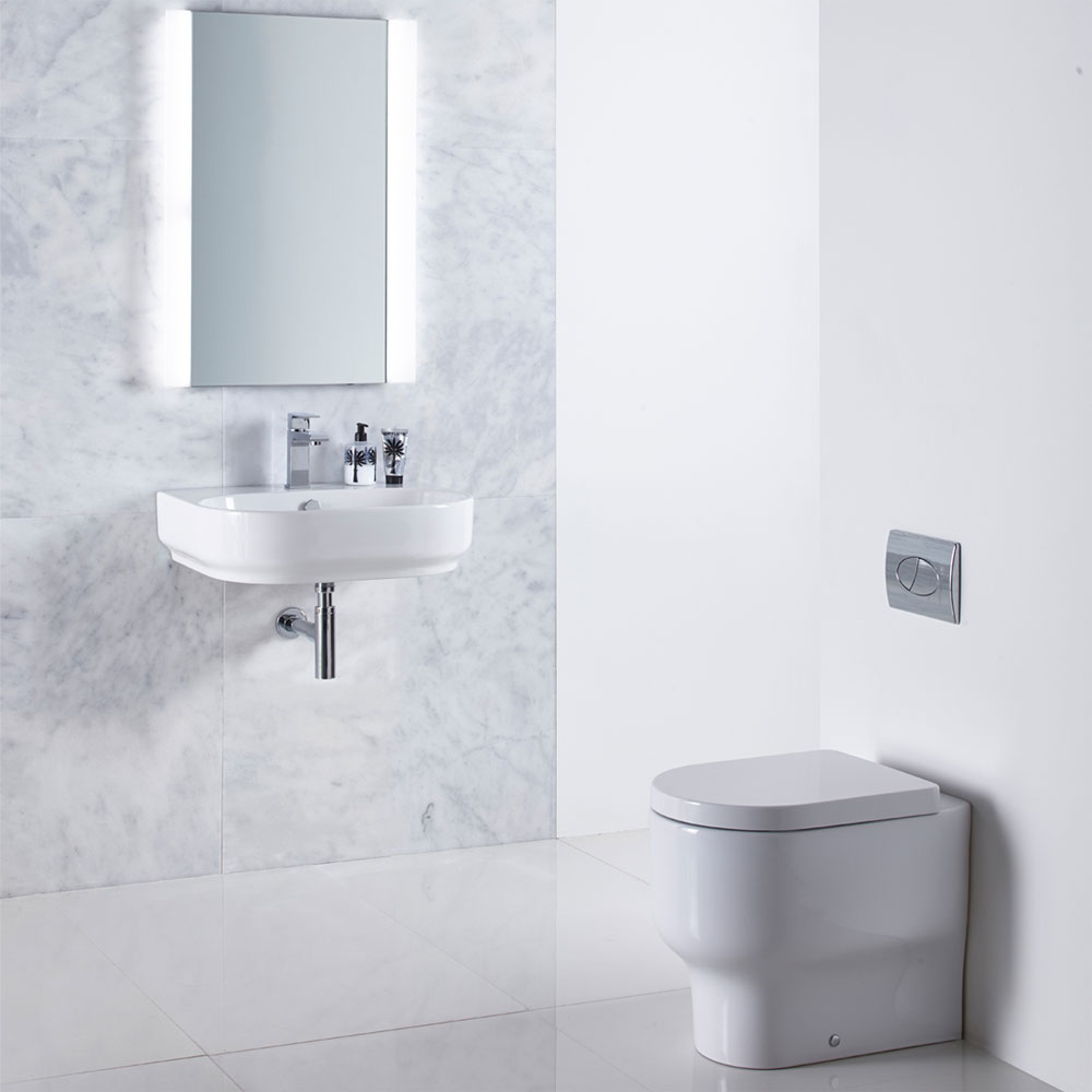 Roper Rhodes Edition Back to Wall WC Pan & Soft Close Seat Feature Large Image