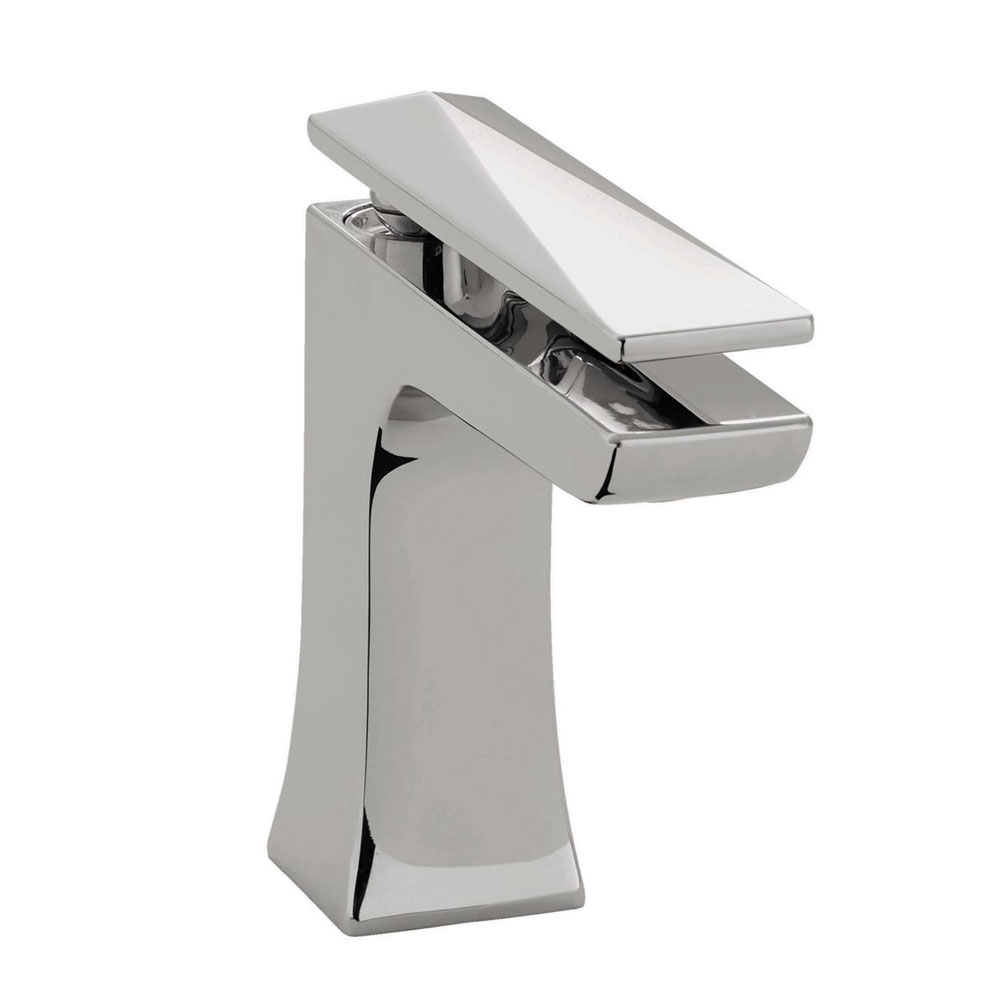 Bristan - Ebony Mono Basin Mixer with Clicker Waste - Chrome - EBY-BAS-C profile large image view 1