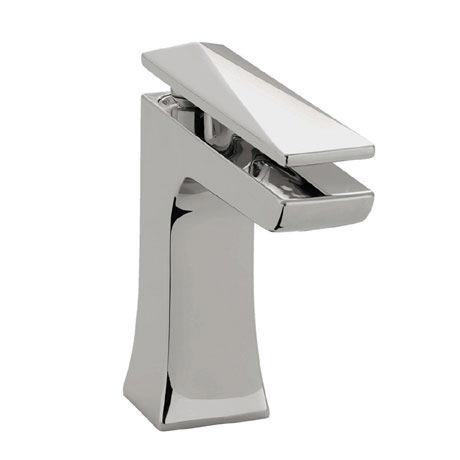 Bristan - Ebony Mono Basin Mixer with Clicker Waste - Chrome - EBY-BAS-C