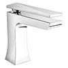 Bristan - Ebony Mono Basin Mixer with Clicker Waste - Chrome - EBY-BAS-C Medium Image