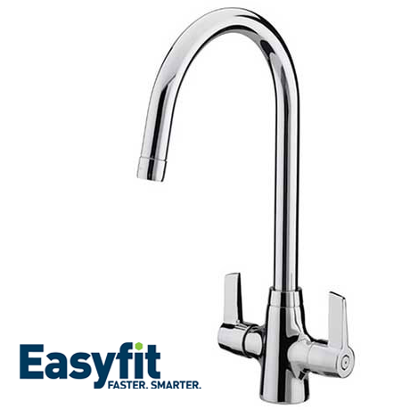 Bristan Echo Easyfit Kitchen Sink Mixer Chrome