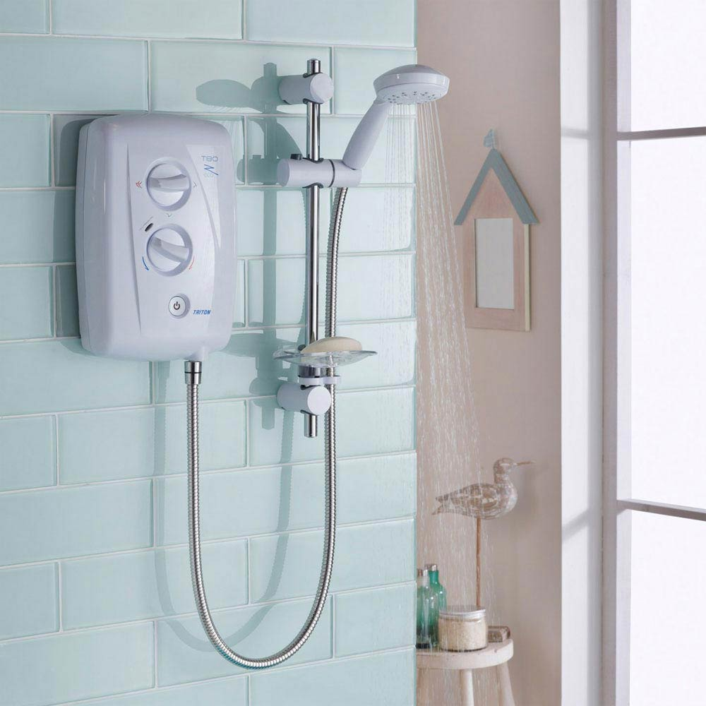 Triton T80Z 8.5kW Fast-Fit Eco Electric Shower - ECO8008ZFF