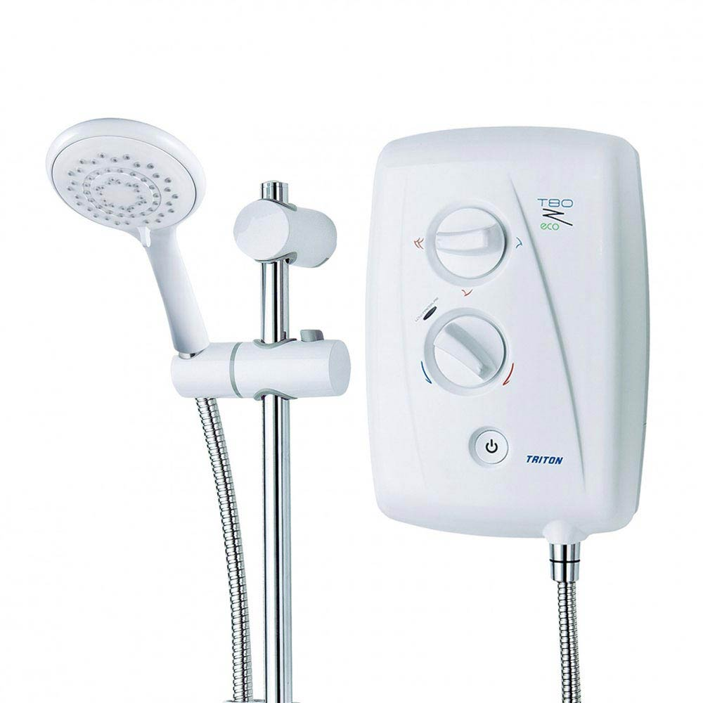 Triton T80Z 8.5kW Fast-Fit Eco Electric Shower - ECO8008ZFF profile large image view 4