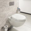 Edmonton Wall Hung Pan with Dual Flush Concealed WC Cistern + Wall Hung Frame profile small image view 1