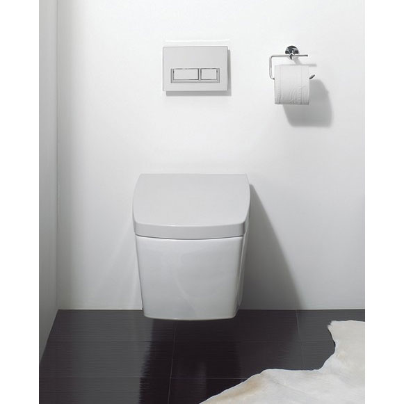 Bauhaus - Touch Wall Hung Pan with Soft Close Seat profile large image view 3