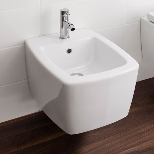 Bauhaus - Touch Wall Hung Bidet Feature Large Image