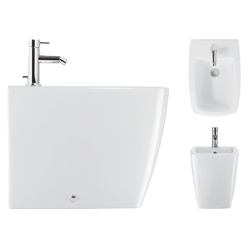 Bauhaus - Touch Back to Wall Bidet profile large image view 2