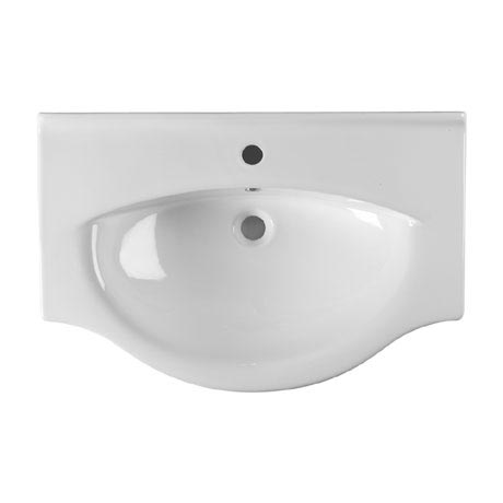 Roper Rhodes Eden 550mm Ceramic Basin - EDBT550W