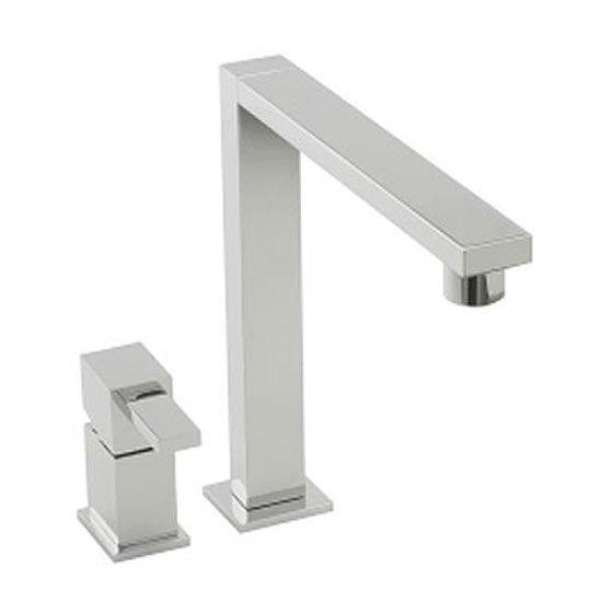 Tre Mercati - Edge 2 Hole Kitchen Sink Mixer - Chrome - 92011 profile large image view 1