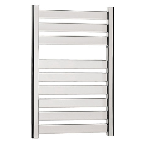 Bauhaus - Edge Flat Panel Towel Rail - Chrome - 3 Size Options