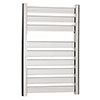 Crosswater - Edge Flat Panel Towel Rail - Chrome - 3 Size Options profile small image view 1