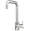 Edmonton Modern Chrome Kitchen Mixer Tap profile small image view 1
