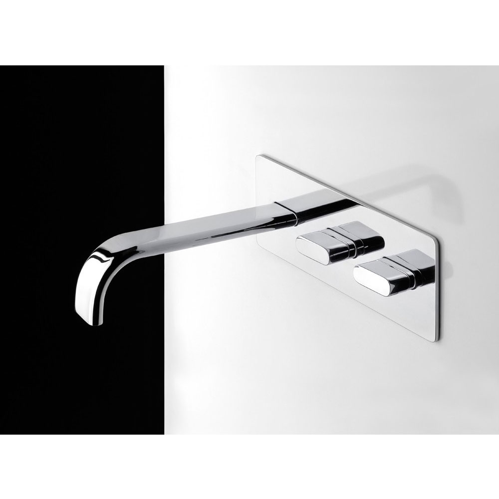 Crosswater - Edge Wall Mounted Bath Filler - EE321WC profile large image view 2