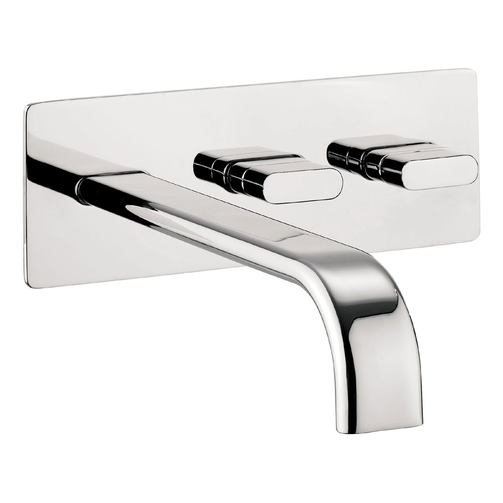 Crosswater - Edge Wall Mounted Bath Filler - EE321WC Large Image