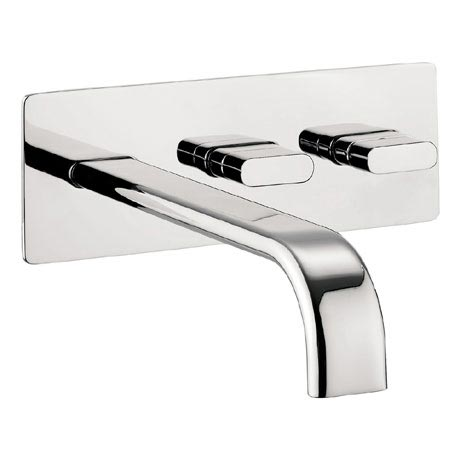 Crosswater - Edge Wall Mounted Bath Filler - EE321WC