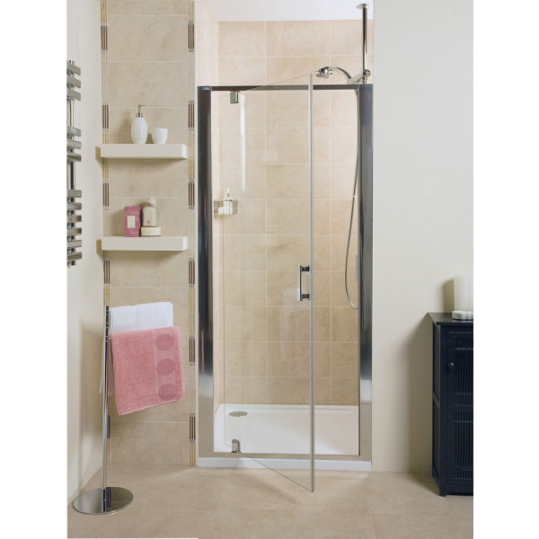 Roman - Embrace Pivot Shower Door - 3 Size Options Profile Large Image