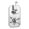Chatsworth 1928 Traditional Twin Concealed Shower Valve profile small image view 1