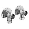 External Wall Mount Fixings For Bar Valves profile small image view 1
