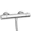 Cruze Round Bottom Outlet Thermostatic Bar Shower Valve profile small image view 1