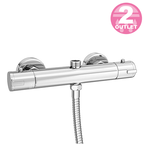 Cruze Round 2 Outlets Thermostatic Bar Shower Valve