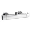 Montreal Modern Thermostatic Bar Shower Valve (Top Outlet) profile small image view 1