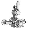 Chatsworth 1928 Traditional Twin Exposed Shower Valve Small Image