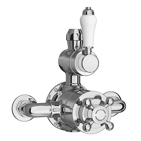 Trafalgar Traditional Twin Exposed Shower Valve