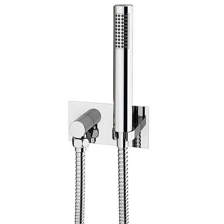 Cruze Concealed Wall Outlet Elbow with Shower Handset