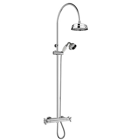 Chatsworth Traditional Thermostatic Shower - Chrome