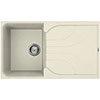 Reginox Ego 400 1.0 Bowl Granite Kitchen Sink - Cream profile small image view 1