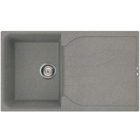 Reginox Ego 400 1.0 Bowl Granite Kitchen Sink - Titanium