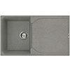 Reginox Ego 400 1.0 Bowl Granite Kitchen Sink - Titanium profile small image view 1
