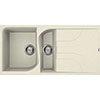 Reginox Ego 475 1.5 Bowl Granite Kitchen Sink - Cream profile small image view 1