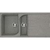 Reginox Ego 475 1.5 Bowl Granite Kitchen Sink - Titanium profile small image view 1