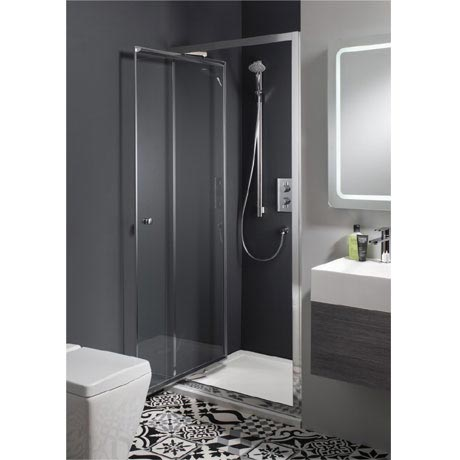 Simpsons - Edge Infold Shower Door - 5 Size Options