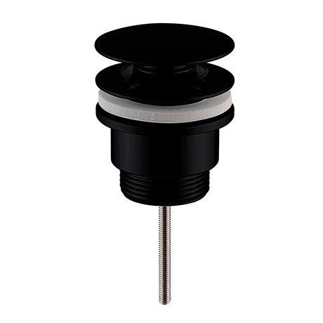 Nuie Black Universal Push Button Basin Waste - EK410