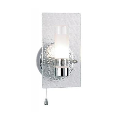 Chrome Torch Wall Lights : Endon - Enluce Torch Wall Light with Bubble Effect Glass - Chrome - EL-20034 at Victorian ...