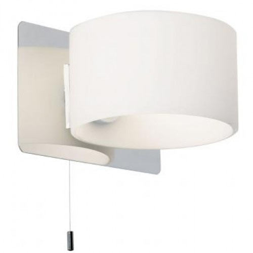 vanities for bedroom with lights endon fidelio single wall light fitting with opal shade 20059