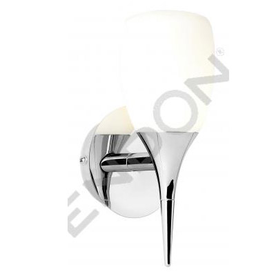 Endon Enluce Single Wall Light Bracket - Chrome - EL-20073 Large Image