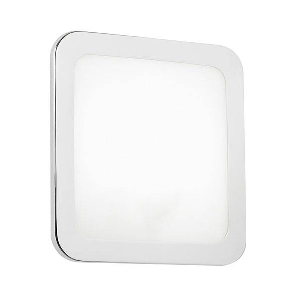 Endon Giles Flush Small Square Wall Light