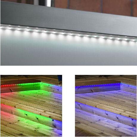 Endon Enluce IP67 5m Transparent LED Roll - 3 Colour Options