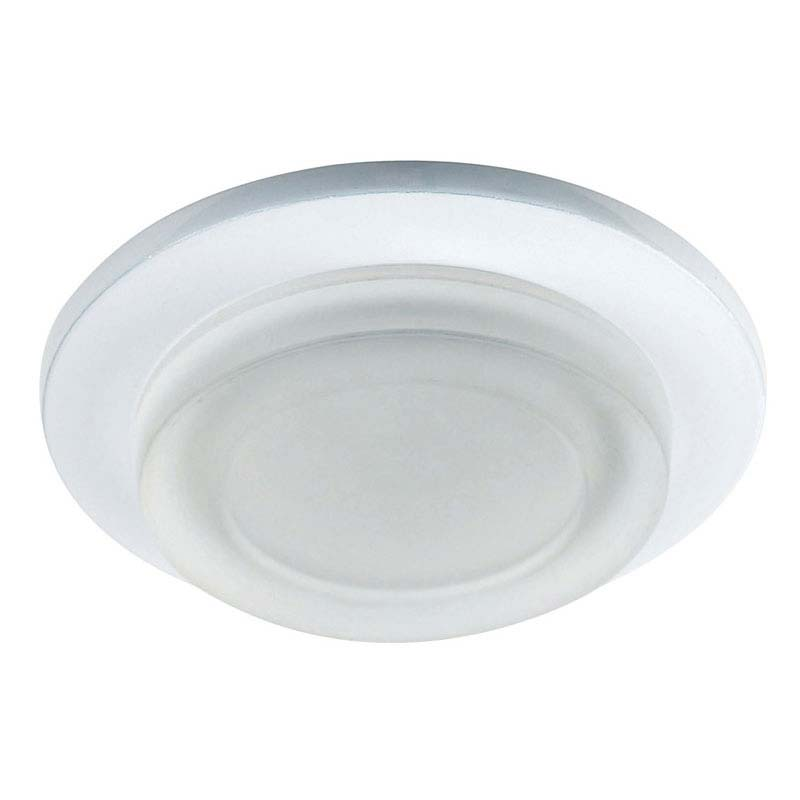 Endon - Enluce Circular Bathroom Ceiling Light - White - EL-IP-1000-WH Large Image
