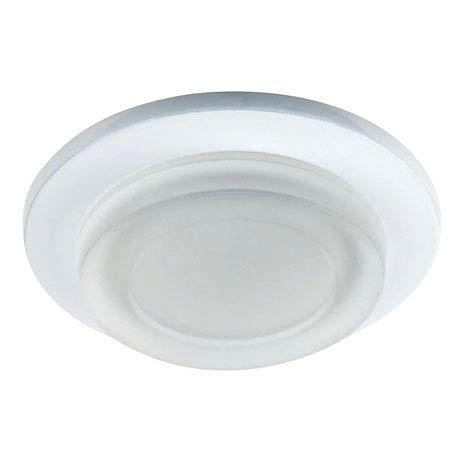 Endon - Enluce Circular Bathroom Ceiling Light - White - EL-IP-1000-WH
