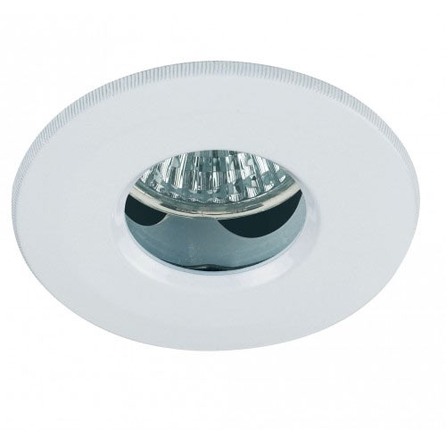 Endon - Enluce Recessed Circular Bathroom Ceiling Light - White - EL-IP-2000-WH profile large image view 1