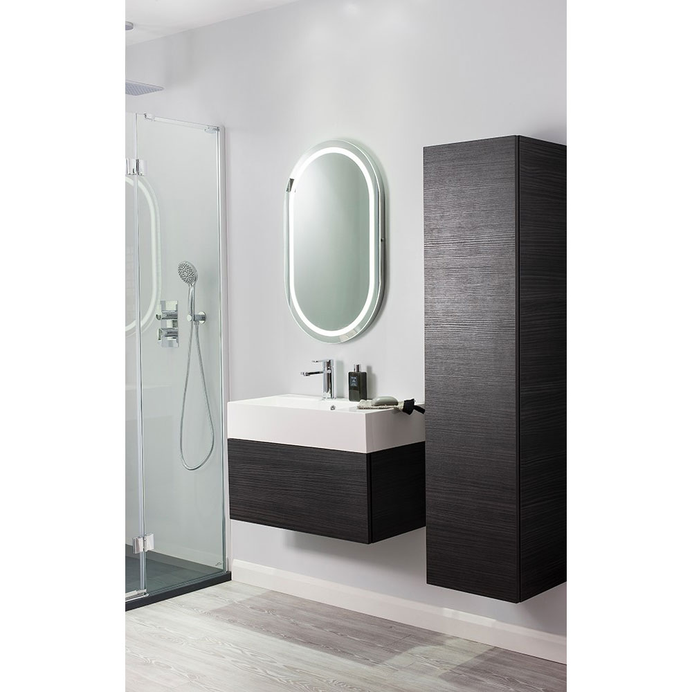 Bauhaus Elite Unit & Cast Mineral Marble Basin - Anthracite profile large image view 4