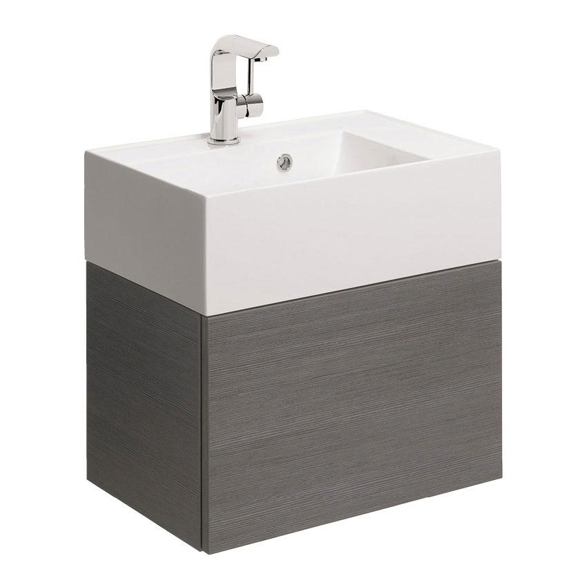 Bauhaus Elite Unit & Cast Mineral Marble Basin - Steel Large Image