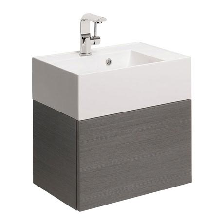 Bauhaus Elite Unit & Cast Mineral Marble Basin - Steel