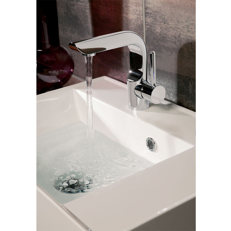 Crosswater - Elite Monobloc Basin Mixer - EL110DNC Profile Large Image