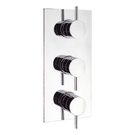 Crosswater - Elite Triple Concealed Thermostatic Shower Valve - EL2000RC